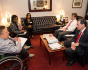 DPC Patient Ambassador meeting with state lawmaker