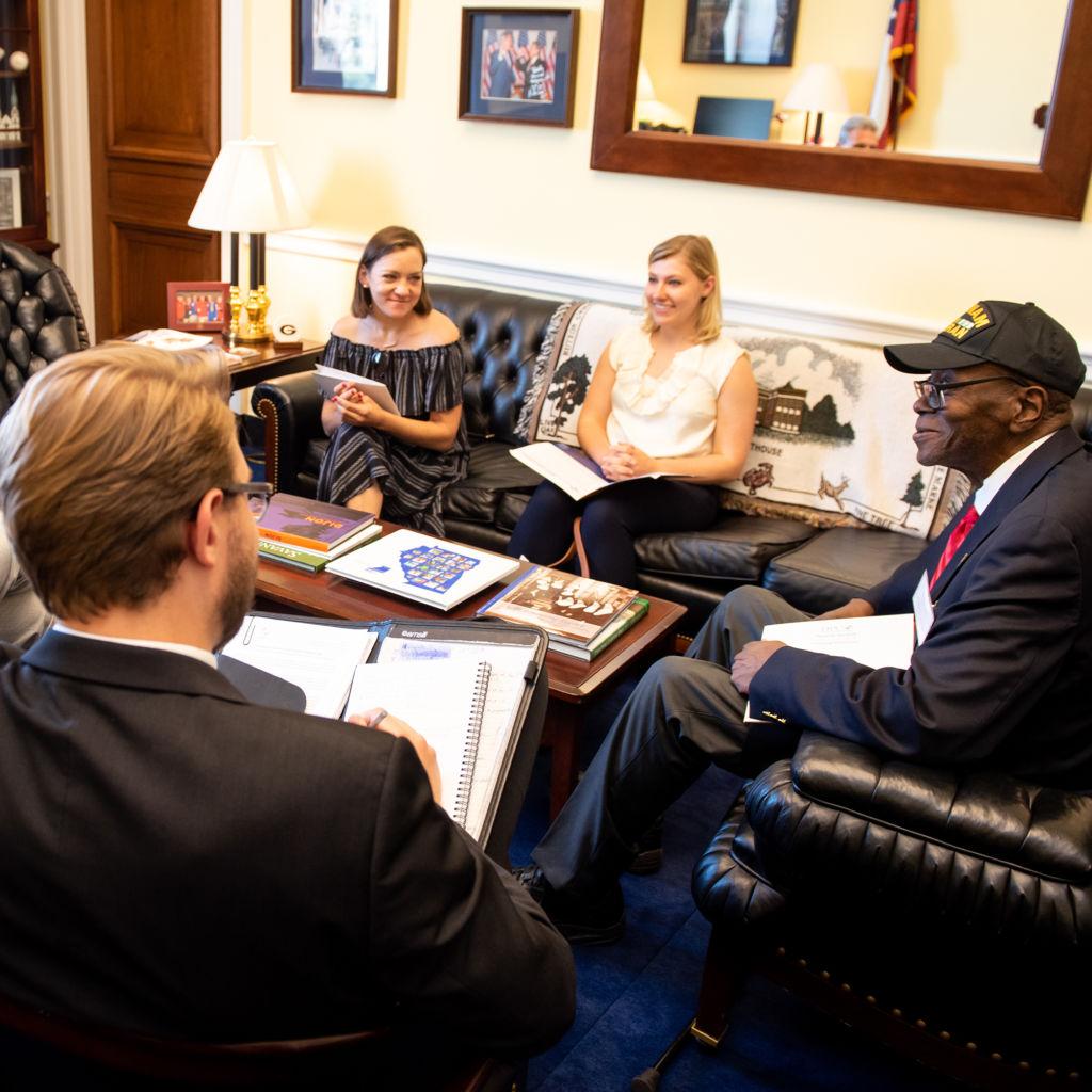 Patient Ambassadors meeting with legislators
